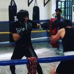 francesco dal pino sparring boxe
