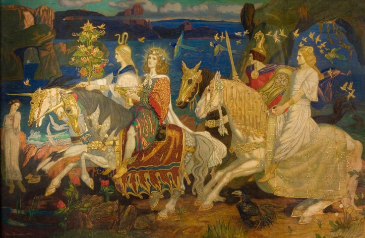 Hellenic_Words_-_John_Duncan_-_Riders_of_the_Sidhe