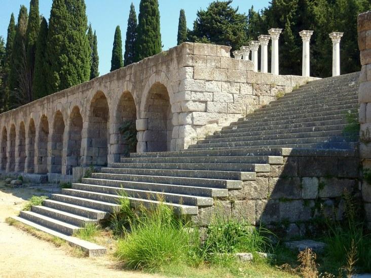 santuario di Esculapio isola Kos, Grecia