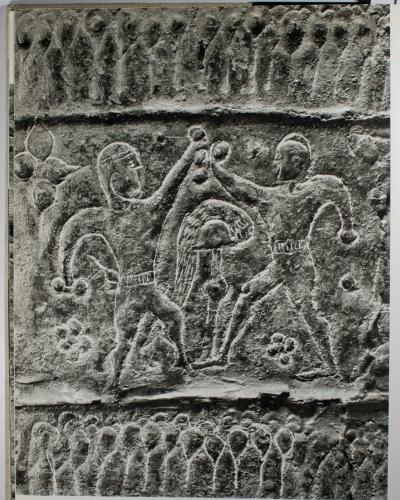 Situla, Bologna Arnoaldi Tomb 96. (Per gentile concessione del Museo Civico Archeologico, Bologna.)