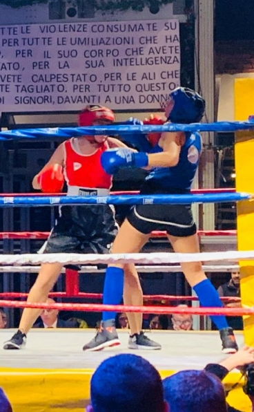 simona monteverdi asd ruan boxing codice rosso
